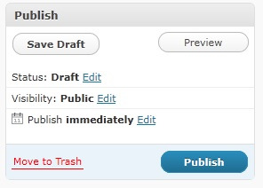 Wordpress comes with one default sample page and we want to delete it. Check the box Click the Trash link Now, let s create our first page for the site. Click the Add New link.