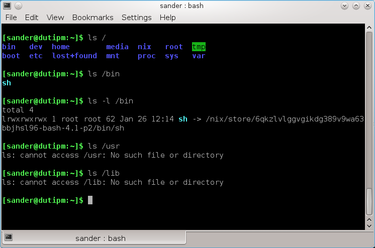 NixOS In NixOS, all packages including the Linux kernel and configuration files are managed by Nix.