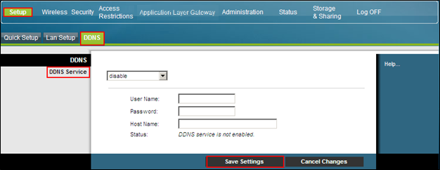 "Set Up Basics Configure DDNS Settings{ XE ""Configure DDNS Settings"" \t ""See"" } Dynamic Domain Name Service (DDNS) provides the gateway for which the IP address can change with a host name or URL that"