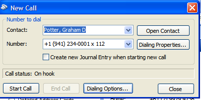 20. StarDialer for Outlook StarDialer for Outlook integrates your Star2Star Phone System with Microsoft Outlook on any PC running Windows XP.