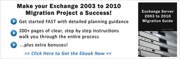 Pdf migrate from exchange 2003 to 2010 a complete guide for small.