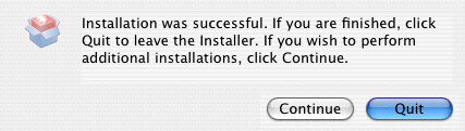 3 INSTALLING THE PRINTER DRIVER (Macintosh) 5 Click [Install].