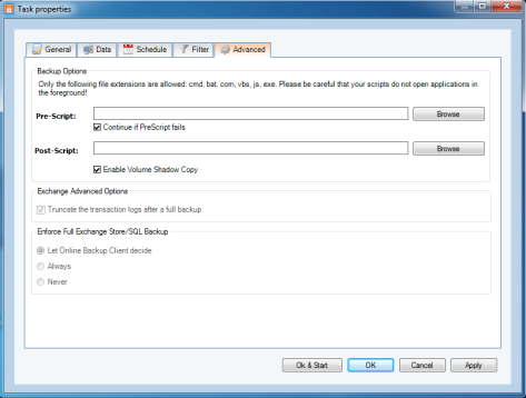 Filter document (.doc) files: *.doc Filter files starting with hello: hello* Filter a specific file: ntuser.dat 8.3.