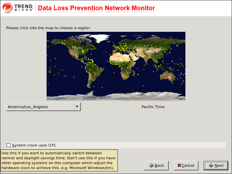 Installing Data Loss Prevention Network Monitor Note: Hostname must be unique so that you can identify DLP Network Monitor when registering it with the DLP management server. 10.