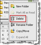 Renaming a custom folder To rename a custom folder: Right-click the folder and then choose Rename Folder.