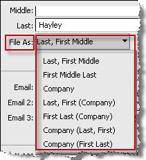Creating contacts After you create a contact, it appears in your contact list. Only you can view and edit the contacts in the list. You can also view each contact on a detailed card. More.