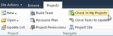 Note: Only enterprise or non-enterprise projects can be consolidated into Project Professional 2010 as a master project by means of the Open Project feature.