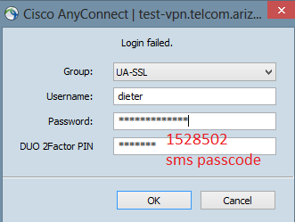 Cisco AnyConnect VPN for: Windows 8 - PDF
