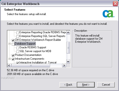 Performing a New Installation with SQL Server 2008 Performing a New Installation with SQL Server 2008 To install CA CM Enterprise Workbench with SQL Server 2008, perform the following step.