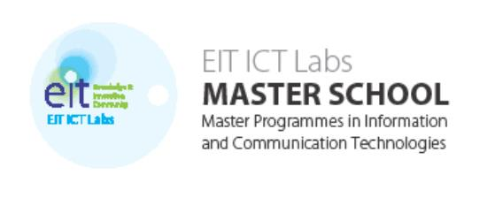 Education EIT ICT Labs Master School Integrates the IT core curricula on seven majors with entrepreneurship education A two year programme, students visiting two leading universities in two different