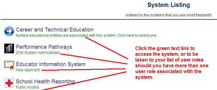Login and System Access To log in as an existing user, provide your User Name and Password then select the Login link.