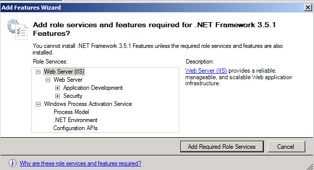 Now that we have the necessary virtual machines for this lab, we ll go ahead and install the prerequisite software. Install.Net Framework 3.