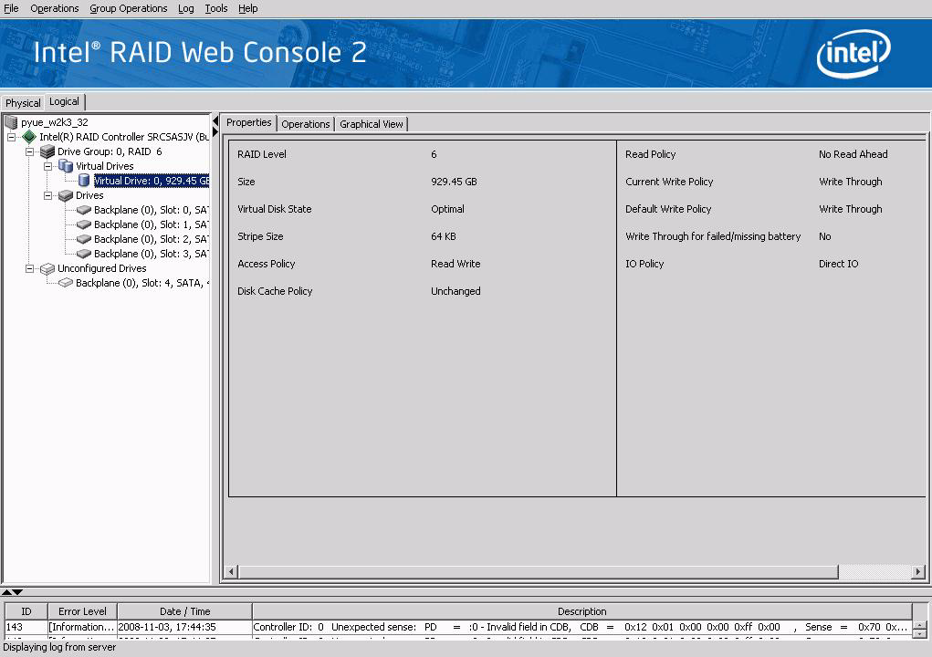 Monitoring Virtual Disks 5. (Optional) Select virtual disks on this controller to exclude from the Patrol Read. The existing virtual disks are listed in the gray box.
