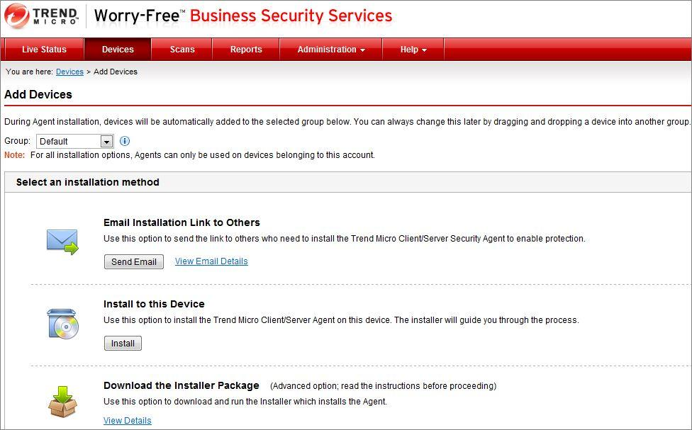 Trend Micro Client Server Security Agent Password Reset