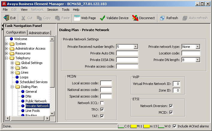 Private networking also provides access to tandem calling and toll bypass functionality to users calling into systems.