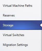 19. In the SCVMM01.contoso.com Properties window, click the Storage tab. 20.