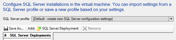38. On the SQL Server Configuration page, leave the default settings, and then click Next. 39.