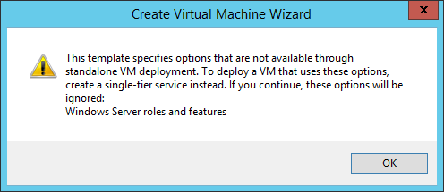Exercise 9.4: Create a VM from a Template In this exercise a VM will be deployed from the newly created template.