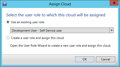 Exercise 11.3: Delegate Access to a Cloud In this exercise access privileges will be assigned to the newly created cloud for the Development User role.