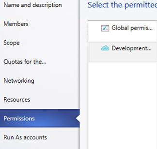 8. In the Member level quotas section, change the Virtual CPUs Assigned Quota to 2 and Virtual