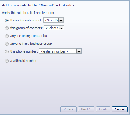 2 Rules-Based Routing Rules-based routing allow the user to configure how calls are routed based on a set of pre-configured rules.