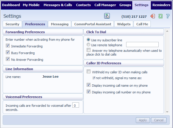 16.3 Blocking The Blocking tab lets you configure what types of outgoing calls should be blocked from your line: To add an account code, follow these steps: Enter an account code in the Account Code