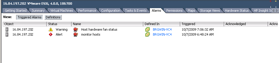 Hardware Monitoring using vsphere Client and VMware vcenter There are two ways to view server hardware information using VMware vsphere software: vcenter is a tool that provides unified management of