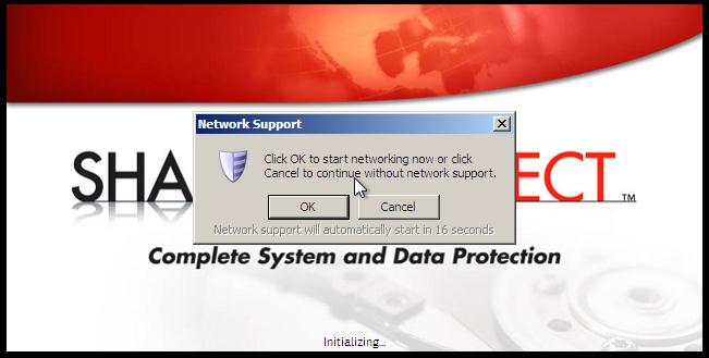 You are presented with a screen that allows you to map a network drive to a network location