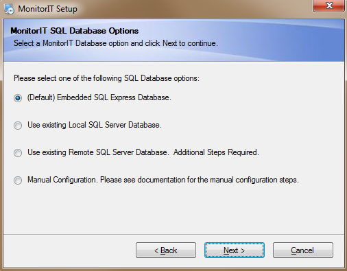 10. The next step lets you select where to install the Goliath Performance Monitor program. On 32-bit versions of Windows, the default location is C:\Program Files\ MonitorIT.