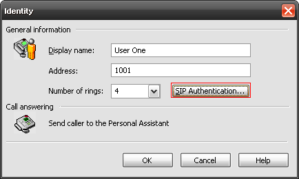 Determining the Authentication ID and Password as the Administrator 1. Launch the UC client. 2. Log in as the admin user. 3. Select the Identities icon located in the Administration Navigation pane.