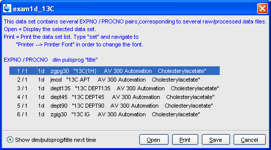 How To Open Nmr Files In Topspin