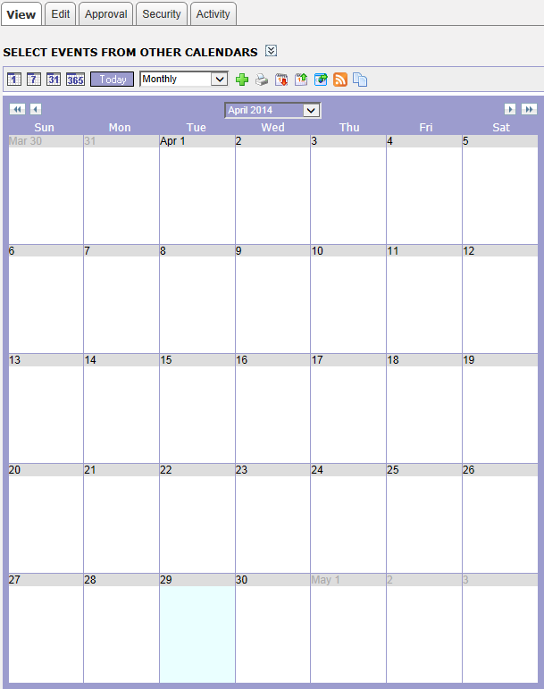 6. Classroom Calendar Using the Classroom Calendars, teachers can ensure that students and parents are always aware of upcoming assignments and deadlines.