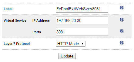 created below) Configure the Ciphers to use field if you want to limit the ciphers Other fields can be left at their default values Export the Certificate from the a Director Server & Upload to the