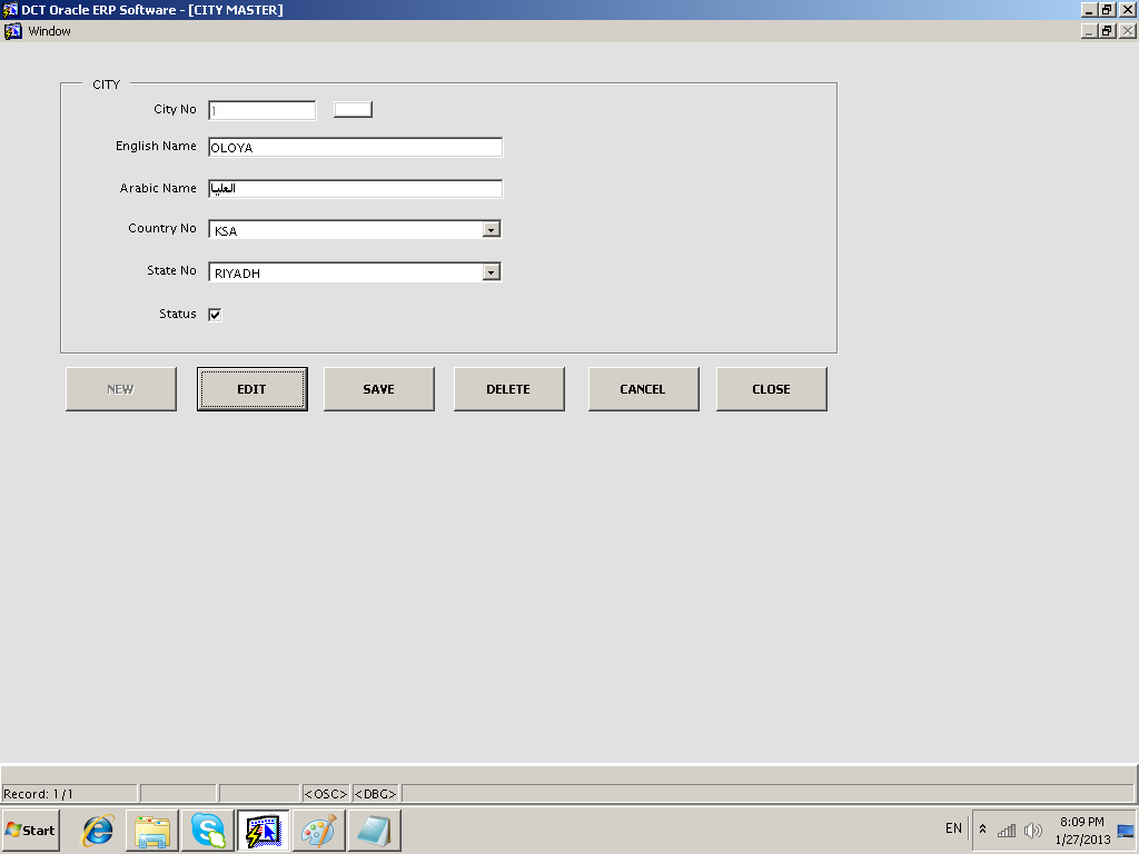 DCT Oracle ERP Software - PDF