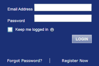 Logging Out Figure 4.5 Login Area 3. Select the check box to stay logged in. This keeps you logged in until you click the logout link to logout. 4. Click the button.