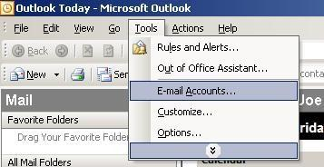 How to configure Outlook anywhere using Office 2003...1 2. How to configure Outlook anywhere using Office 2007...6 3. How to configure Outlook anywhere using Office 2010...9 4.