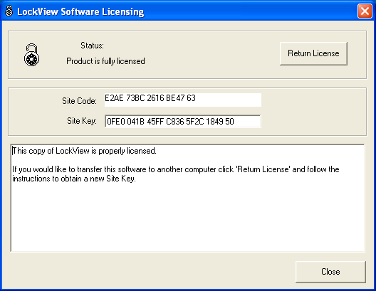 SOFTWARE LICENSING - REGISTRATION WIZARD continued Click Validate to ensure the software is properly licensed.