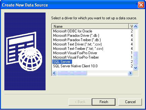 CONFIGURING LOCKVIEW FOR SQL continued 4.