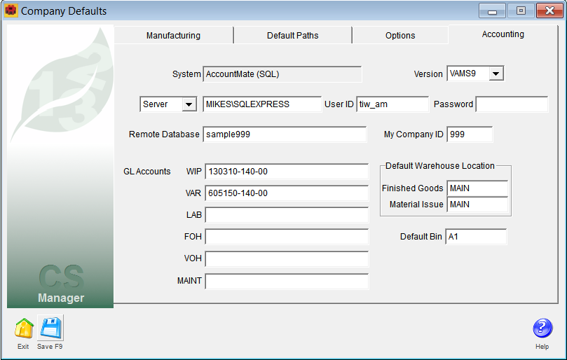 Setting Up ALERE with Client/Server Data - PDF