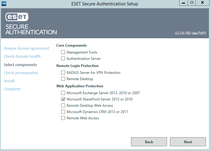 ESET SECURE AUTHENTICATION  Product Manual - PDF