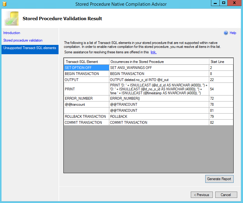 3. Develop workarounds for unsupported TSQL elements. 2014 Fusion-io, Inc. All Rights Reserved.