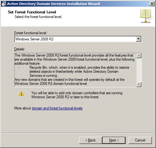 Select Windows Server 2008 or Windows Server 2008 R2 if building Windows Server 2008 R2