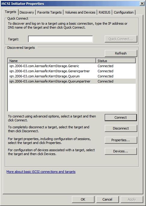 Enable Multipath Support Launch MPIO manager by clicking Start->Administrative