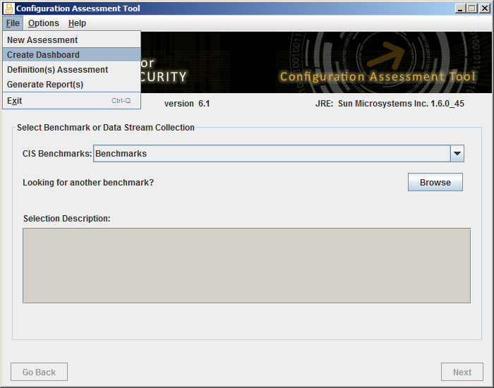 The Center for Internet Security  CIS Configuration Assessment Tool