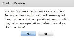Remove a Group 1.