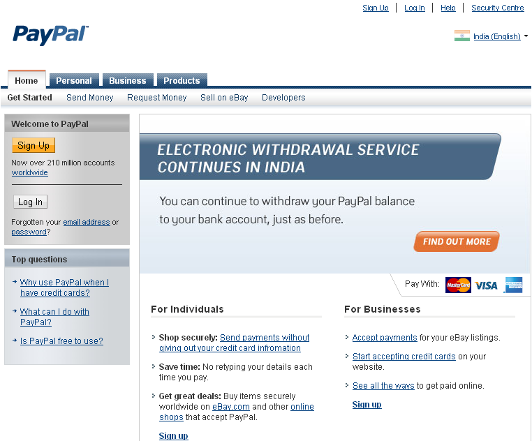 Accept And Refund Payments In A PayPal Personal Account - PDF