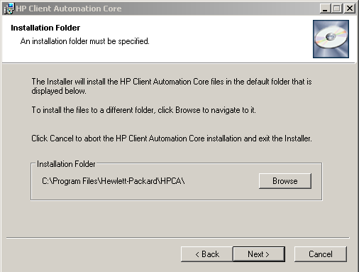 Step 3 Accept the EULA (End user license agreement), then click Next Step 4 Accept the default