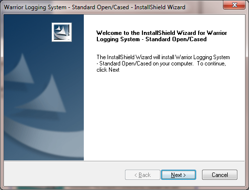 FIG: 1.2.3 The Install Shield Wizard will begin.