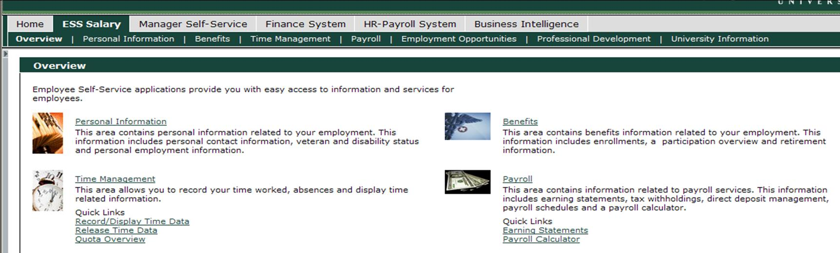 Employee Self Service: Payroll Overview - PDF