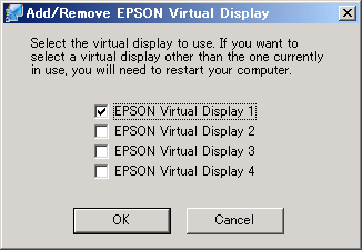 Using Multi-Screen Display 25 Procedure Before Using the Multi-screen Display Function 1. Setting the Virtual Display s p.25 In a Windows environment, enable the virtual display driver as necessary.